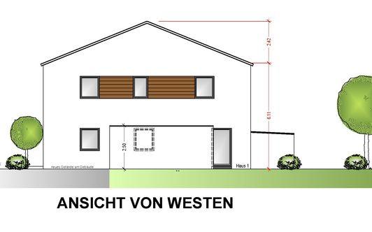 Neubau Doppelhaushälfte in Geisenfeld/Aufeld
